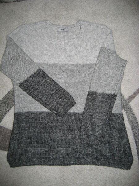Intelligente Woman Pullover Grau Gr. 38