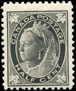 1897-Mint-Canada-F-Scott-66-1-2c-Maple-Leaf-Issue-Stamp-Never-Hinged