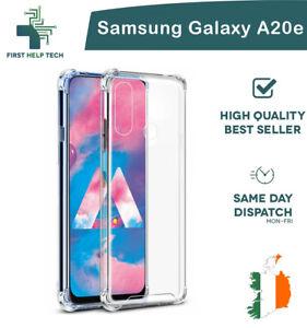 Samsung-Galaxy-A20e-Case-Cover-ShockProof-Soft-Bumper-Case-Clear-TPU-Silicone