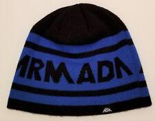 22a88682f17 item 2 Mens Armada Beanie Hat Black Blue Ski Winter Warm One Size -Mens  Armada Beanie Hat Black Blue Ski Winter Warm One Size