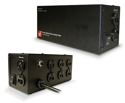 No MOV 10 year warranty BrickWall PW8R15AUD 15A 120V  8 outlet Surge protector