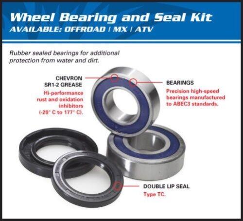 Wheel Bearing Set Ar And Joint Spy Details about  /Kawasaki Zg 1200 Travel 776559