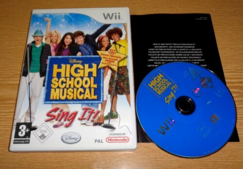 1 von 1 - High School Musical: Sing It (Nintendo Wii Spiel 2007, DVD-Box)