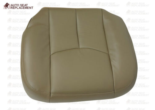 2003 to 2006 Chevy Silverado /& GMC Sierra Upholstery Leather Seat Cover Tan #522