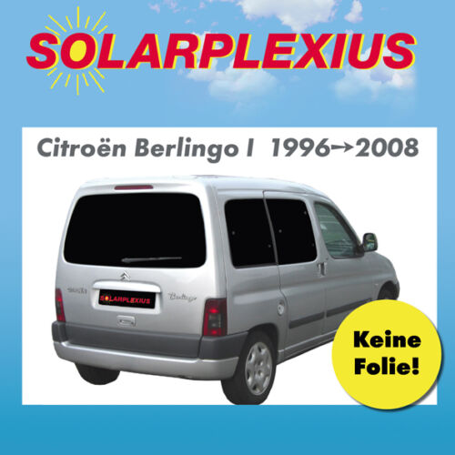 Auto Sonnenschutz Scheiben-Tönung Sonnenblenden CITROËN BERLINGO I Bj.96-08