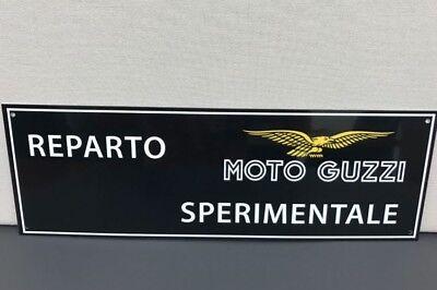 Italian Motorcycle Moto GuzziVintage Reproduction Sign Garage Servizio Service
