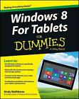 Windows for Tablets For Dummies von Andy Rathbone (2013, Taschenbuch)
