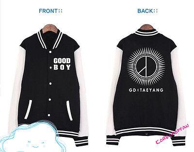Bigbang g-dragon gd taeyang Good Boy Kpop girl Jacket coat New