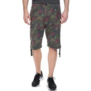 best sneakers in stock clear-cut texture Details about G Star RAW Rovic Camo Deconstructed Loose 1/2 Length Shorts,  BNWT $130