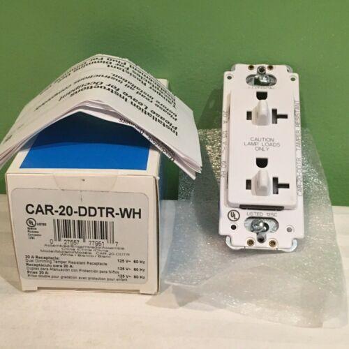 ddtr-WH 20 A 120 V inviolable Récipient NAVIRES GRATUIT Brand New lutron CAR-20