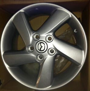 "MAZDA Disk wheel aluminum ""6JH16"", R16"" New OEM 9965-65-7060"