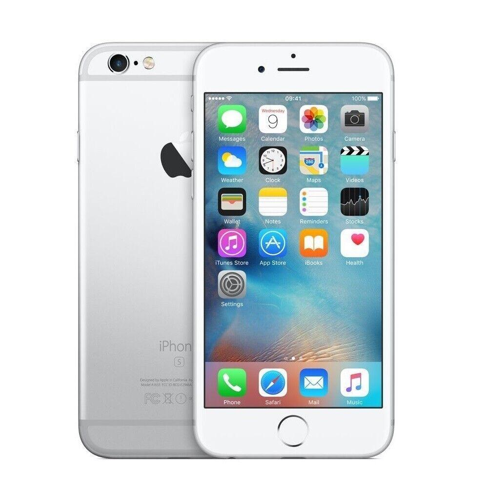 iPhone: APPLE IPHONE 6S 64GB BIANCO SILVER ROTTO DIFETTOSO SCHEDA MADRE PEZZI RICAMBIO