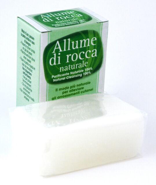 Bloque de sal de alumbre 100g