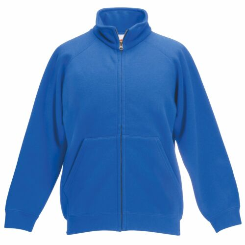Classic 80//20 Kids Full Zip Neck Sweatshirt Jacket Boys Girls Jumper Sweat TOP