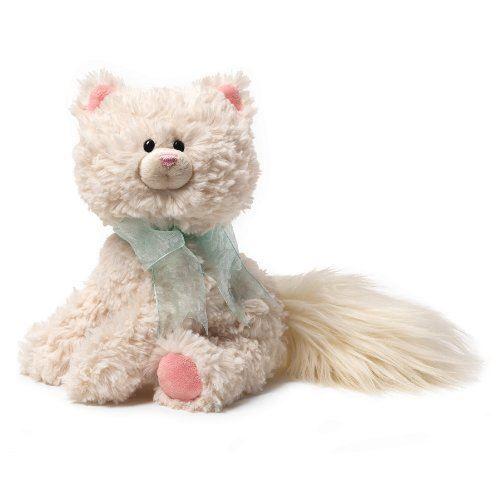 Gund Sybella Soft Plush Kitten Childrens Cute Bushy Tail Cat Toy 4037008