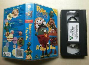 POLKA-DOT-SHORTS-A-STAR-IS-BORN-VHS-VIDEO