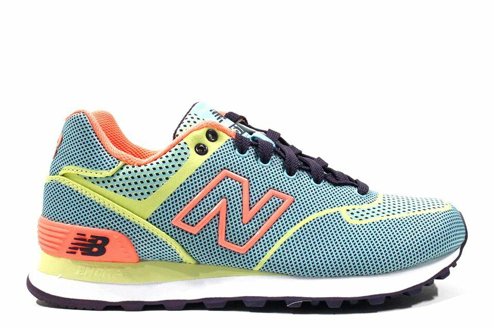 New Balance Classic  Lime Green Peach