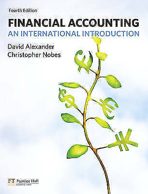 1 of 1 - Financial Accounting: An International Introduction (4th Edition)-ExLibrary