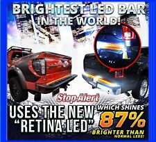 "48"" Red LED Light Bar Strip Truck Tailgate Rear Turn Signal Brake Light 49"