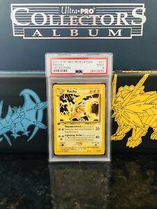 Pokemon-TCG-Neo-Revelation-1st-Edition-Raichu-21-64-PSA-MINT-9