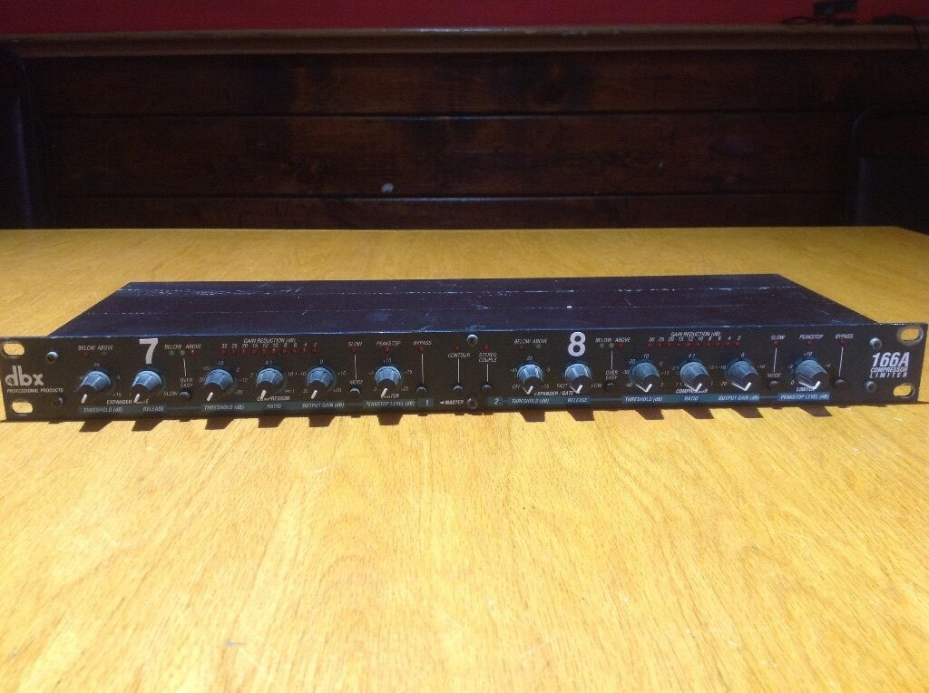 NEW     dbx 166XL dbx 166A Compressors (5 available) w  8 channel insert whip