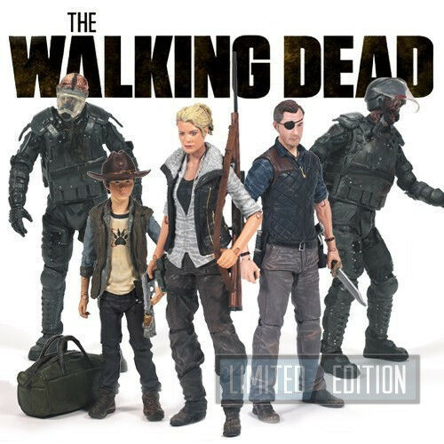 The Walking Dead TV Series 4 Action Figure Set of 5 McFarlane Toys Zombie AMC