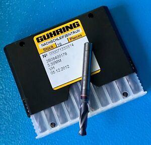 GUHRING-1-x-VHM-Ratiobohrer-mit-Kuehlkanal-5-5mm-RT-100U-3xD-DIN6537K-Typ-HE