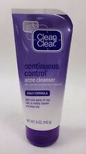 Clean and Clear Acne Cleanser Continuous Control Daily Formula 5 oz Exp 03/18 +