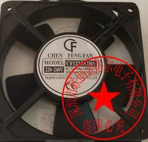 1pc new fan freeship CF1225A2HS CHEN FENG FAN 220-240VAC 120*120*25MM