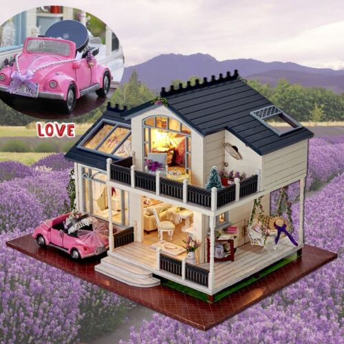 LOL SURPRISE DOLL HOUSE Made with REAL Wooden Birthday Birthday Toys Gifts