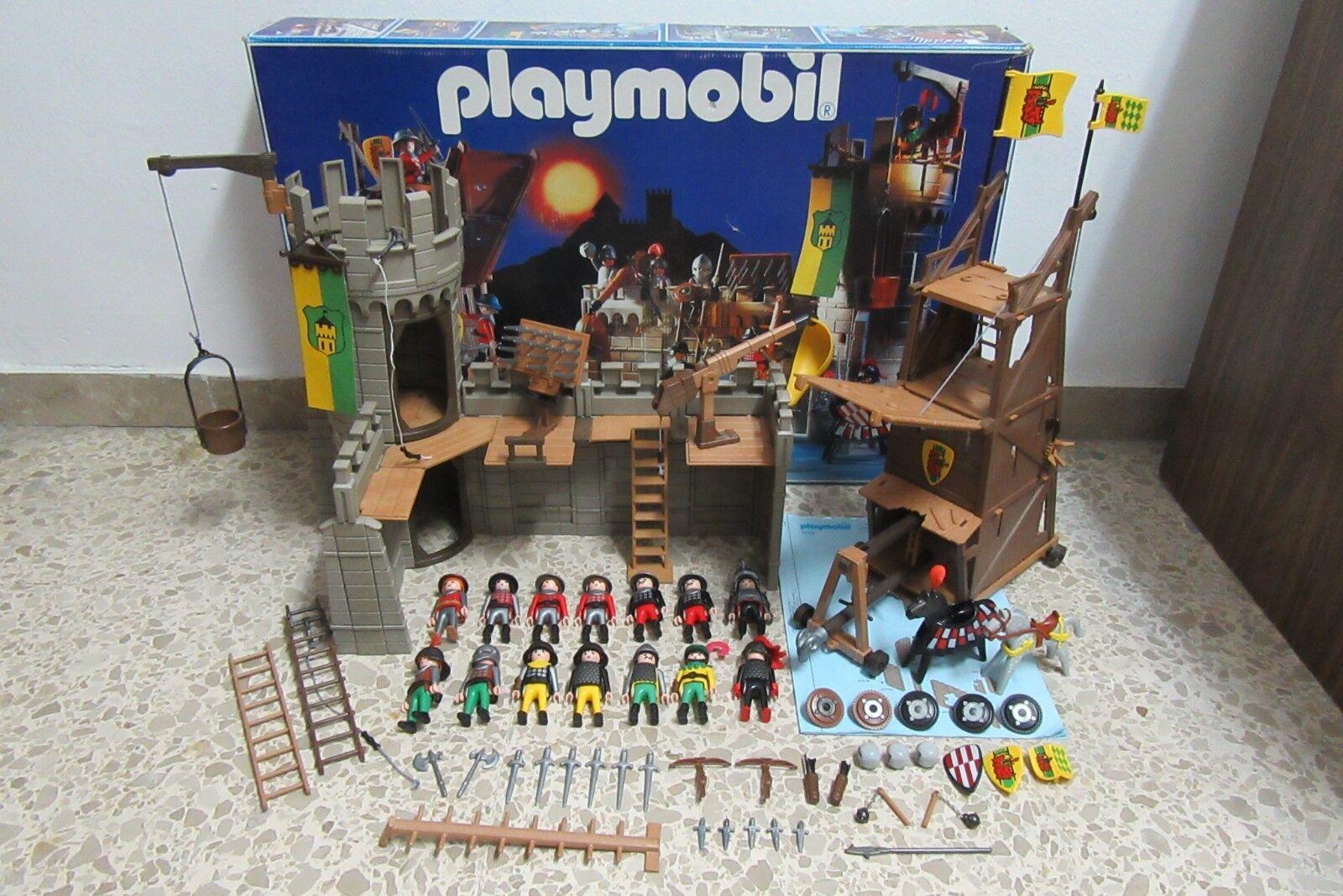 Playmobil - Medieval - Castillo Torre Asalto Cabtuttieros - 3123  - (COMPLETO) OVP  conveniente