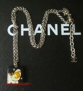 AUTHENTIC-CHANEL-CC-Logo-Black-NECKLACE-BUTTERFLY-Crystal-Gold-Baby-Animal