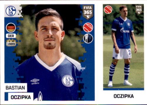 FC Schalke 04 Panini FIFA365 2019 Bastian Oczipka Sticker 195 a//b