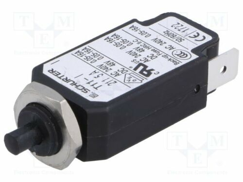 Überstromschalter UNenn 1 10g 1 st 240VAC 48VDC 5A SPST Pole