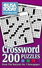 USA Today Puzzles: USA TODAY Crossword : 200 Puzzles from the Nation's No. 1 Newspaper 2 by USA Today Staff (2007, Paperback)
