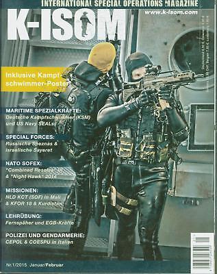 K-ISOM 3//2015 Spezialkräfte Magazin Kommando Bundeswehr Waffe Eliteeinheiten SWA