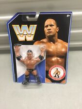 Mattel WWE Retrò Collezione The Rock Action Figure