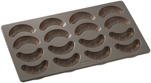 LURCH Flexi Form 65015 Vanille Kipferl croissant Moule 17 x 30 cm