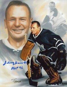 Johnny-Bower-Toronto-Maple-Leafs-Autographed-Signed-8x10-Photo