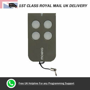 MOOVO-MT4G-Remote-Control-Gate-amp-Garage-Door-Fob-433-92-MHz-Rolling-Code