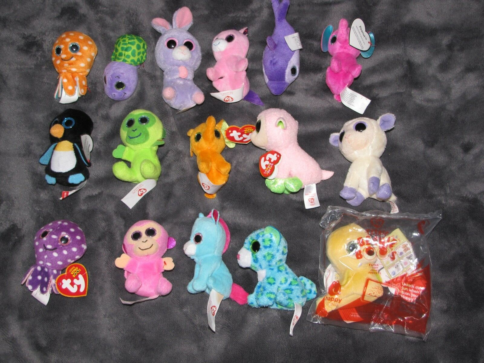 16 TY TEENIE BEANIE BOOS MCDONALDS MCDONALD'S STUFFED PLUSH SMALL MINI