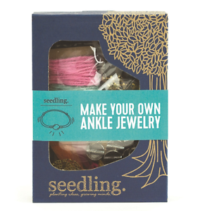 NEW-SEEDLING-MAKE-YOUR-OWN-ANKLE-JEWELLERY-CRAFT-KIT-CHILDREN-FASHION-DESIGN-TOY