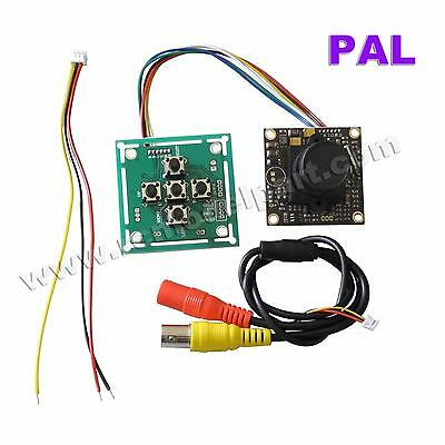 Sony 700TVL PAL Super HAD CCD II 2.8mm Lens FPV Camera + OSD Control Panel