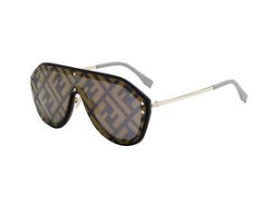 Occhiali-da-Sole-FF-M0039-G-S-nero-grigio-decorato-2M2-7Y-Fendi-Autentici