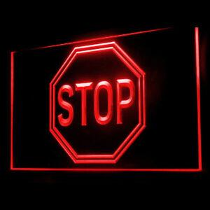 120065 stop warning caution prohibit forbid block lock illegal led