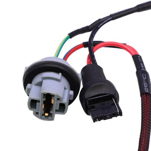 2x 7440 T20 50W 6ohm Load Resistor Wiring Harness LED Bulb Error free Decoding