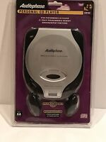 Audiophase Portable Cd Player Cd152 Super Bass System Walkman Discman Sealed