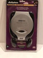 Audiophase Portable Cd Player Cd152 Super Bass System Walkman Discman Sealed
