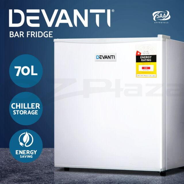 Devanti Bar Fridge Mini Freezer Small Refrigerator Portable Home Wine Cooler 70L