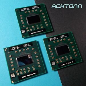 Lot 3x AMD Athlon II M300 AMM300DBO22GQ 2.0G Laptop Socket S1 Mobile CPU ACKTONN